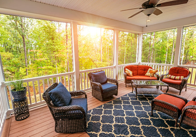 Adding Value to Your Home with a Weatherized Porch