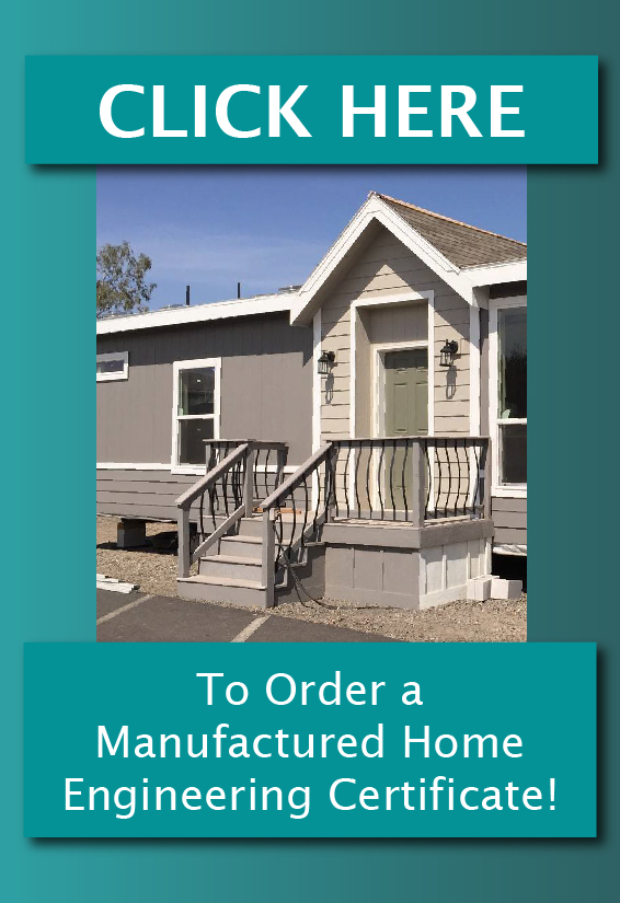 Manufactured Home Engineering Certification