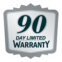 90 Day Limited Warranty
